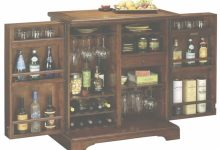 Portable Bar Cabinet