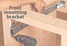How To Install Drawers In Cabinets