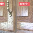 How To Remove Grease From Cabinet Doors