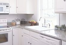 White Cabinets And Appliances