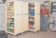 Rolling Garage Storage Cabinet