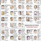 Updated List Of Cabinet Ministers