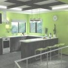 Green And Black Kitchen Ideas