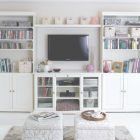 Living Room Wall Storage Ideas