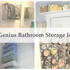 Homemade Bathroom Storage Ideas