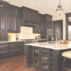 How To Stain Cabinets Black
