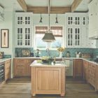 Wood And Painted Cabinets