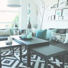Turquoise And Black Living Room Ideas