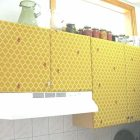 Covering Cabinets With Fabric