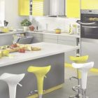 Yellow Grey Kitchen Ideas