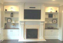 Cabinets Around Fireplace
