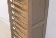 Roll Front Filing Cabinet