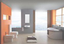 Orange And Gray Bathroom Ideas
