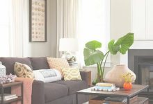 Living Room Ideas With Brown Sofa
