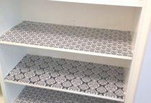 Kitchen Cabinet Liner Ideas
