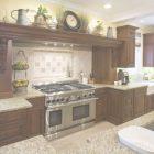 Above Kitchen Cabinet Decorating Ideas