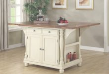 Kitchen Table With Storage Cabinets
