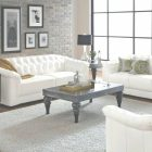 Living Room Ideas With White Leather Couches