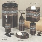 Bronze Bathroom Accessories Set