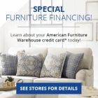 American Furniture Warehouse Credit Card