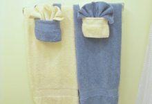 How To Fold Decorative Bathroom Towels
