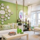 Living Room Decor Green