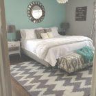 Teal And Grey Bedroom Walls