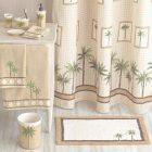 Palm Tree Decor For Bathroom