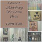 Science Bathroom Decor