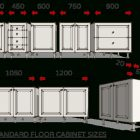 Cabinet Standard Size