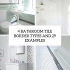 Bathroom Borders Ideas