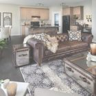 Brown Leather Living Room Decor