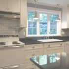 White Kitchen Cabinets And Appliances