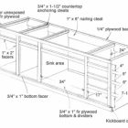 Kitchen Cabinet Blueprints Free