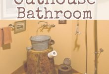 Bathroom Outhouse Decor