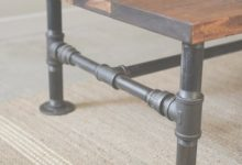 Black Plumbing Pipe Furniture
