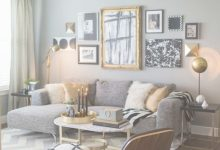Grey And Gold Living Room
