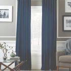 Blue Curtains For Living Room
