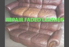 How To Restore Leather Furniture