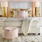 Pink And Gold Bedroom Decor