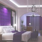 Master Bedroom Interior Design Purple