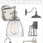 Farmhouse Bathroom Vanity Lights