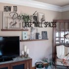 Wall Decor For Large Living Room Wall