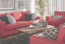 How To Decorate Living Room With Red Sofa