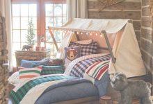 Cabin Themed Bedroom