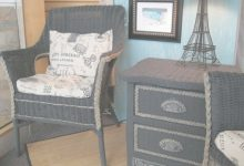 How To Paint Wicker Furniture With Chalk Paint