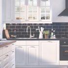 White And Black Tiles For Kitchen Design