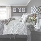 Black White And Gray Bedroom Decorating Ideas