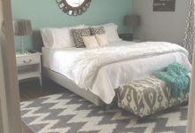 Teal And Grey Bedroom
