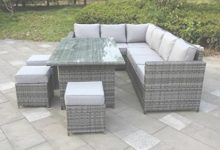 Grey Rattan Outdoor Furniture